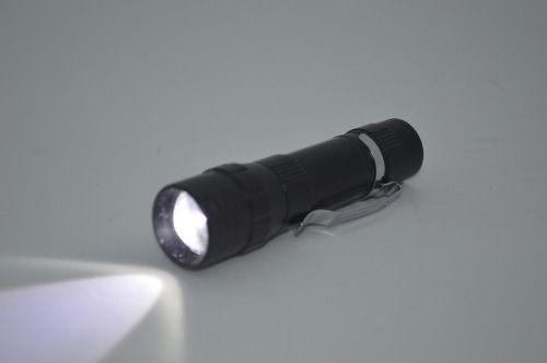 Lanterna Led Alumínio Com Zoom Recarregável Luz Lateral