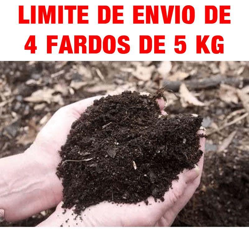 5 sacos de Terra Adubada P/ Jardim, Ricamente Nutritiva 3k cada saco