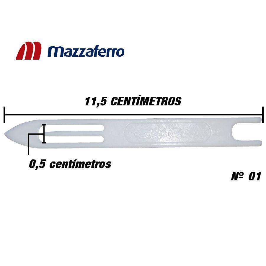 Agulha Para Rede Tarrafa - Linha Grilon Nº 1 (11,5cm)