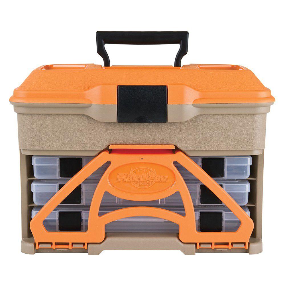 Caixa De Pesca Flambeau T3 Mini Front Loader 6304 Tb