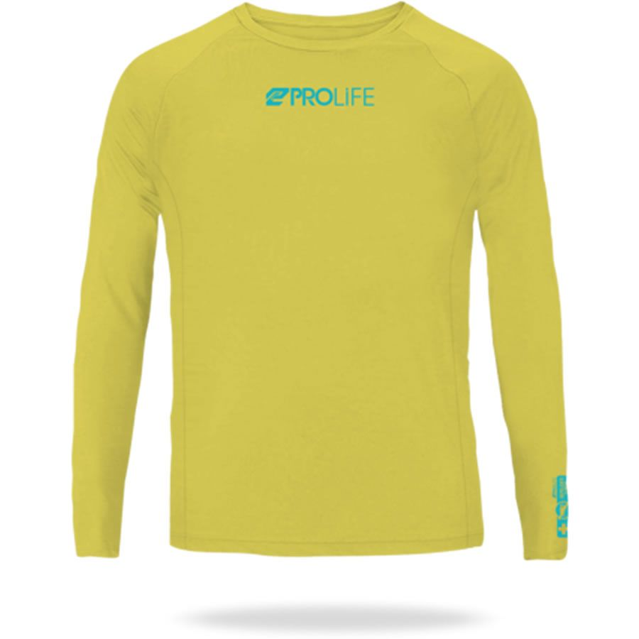 Camiseta Repelente Insetos Infantil Amarelo