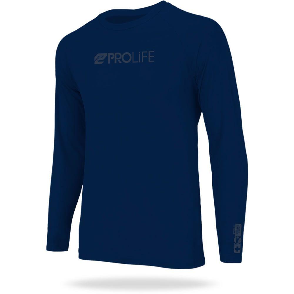 Camiseta Repelente Insetos Masculina Azul Marinho