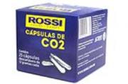CARTUCHO/CAPSULA DE GÁS CO2 ROSSI 12G CAIXA C/25