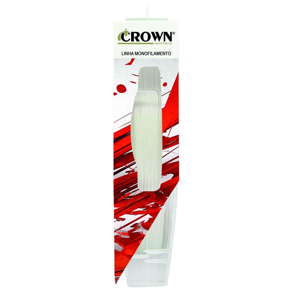 Linha Fluorcarbono Crown Pro Leader 50 M