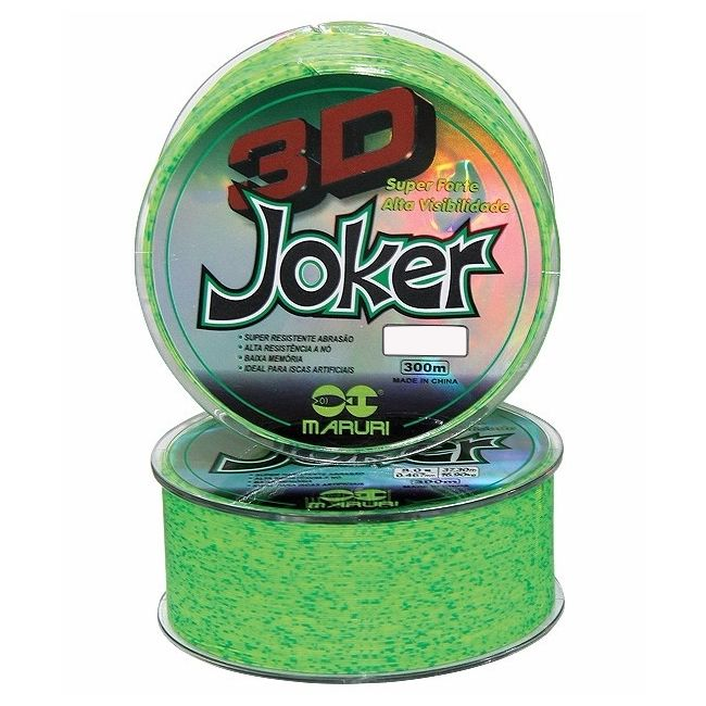 Linha Maruri 3d Joker 0,37 Mm - 24,30 Lbs - 11,04 Kg