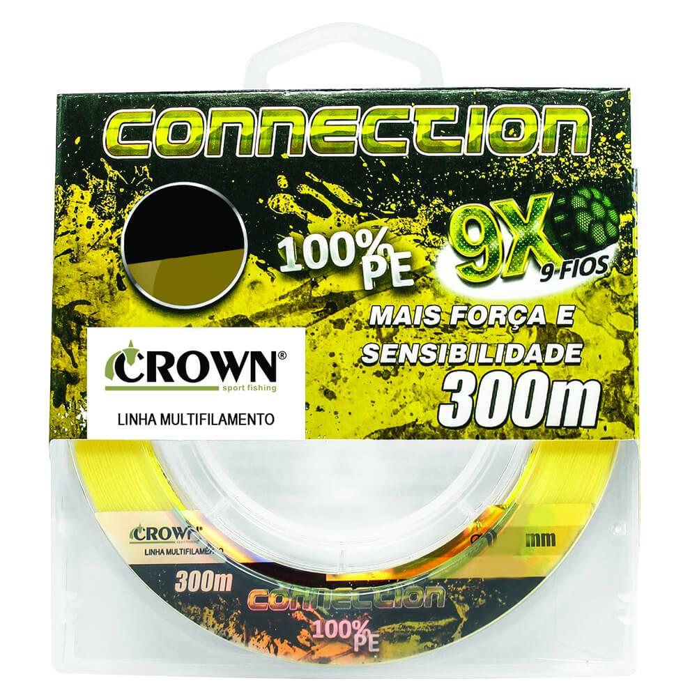 Linha Multifilamento Crown Connection 9x 0,28 0,31 Ou 0,43 300m