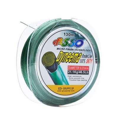 Linha Multifilamento Dyneema 130 m 0.21 mm Verde
