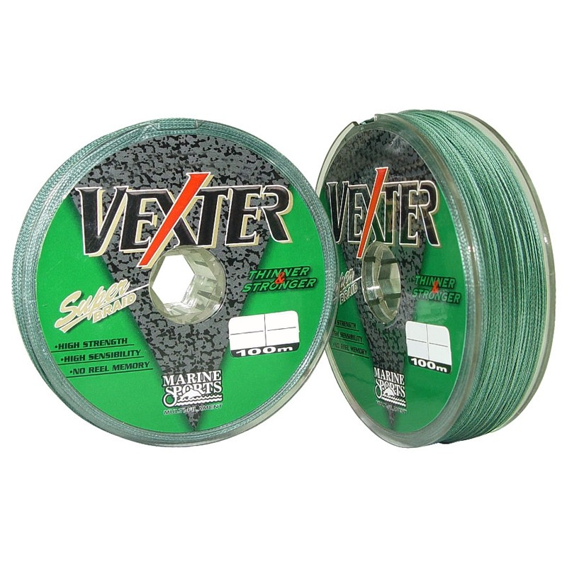 Linha Multifilamento Vexter Green 0,19 Mm - 20 Lbs