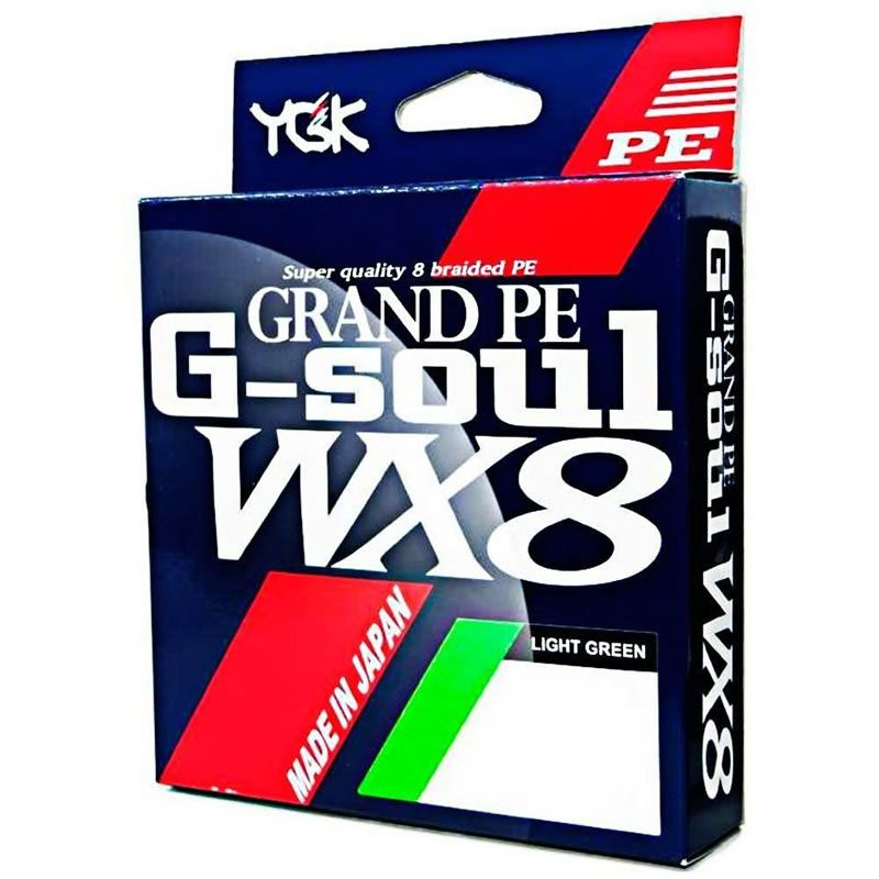 Linha Multifilamento Ygk Grand Pe G-soul Wx8 150 M