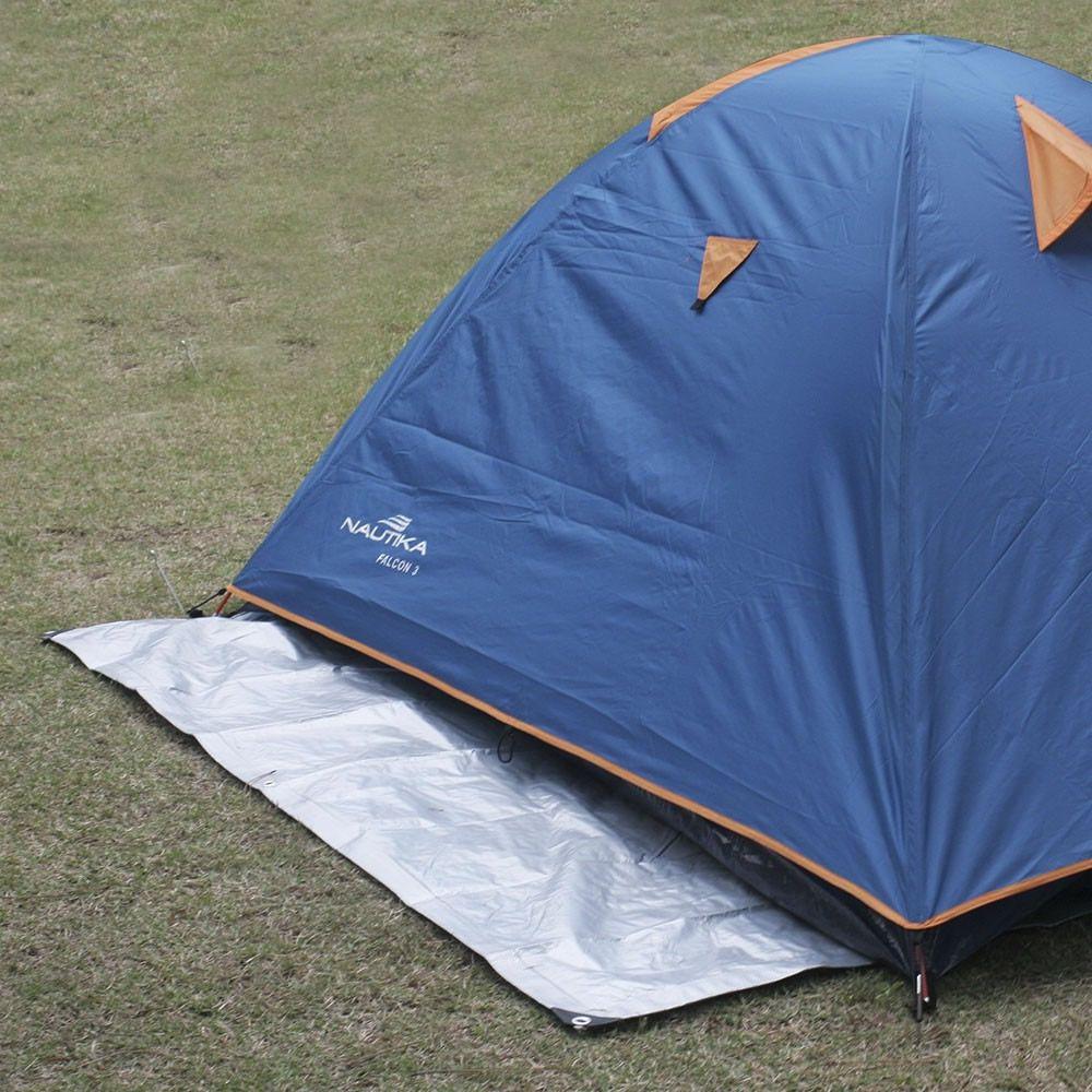 Lona Impermeável Reforçada Multiuso Nautika 3x3 Camping
