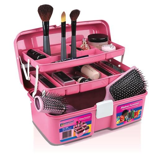 Maleta Caixa De Maquiagem Multiuso Feminina