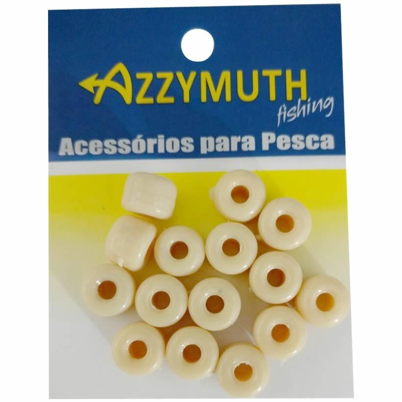 Miçangão Para Pesca Azzymuth Cor Creme