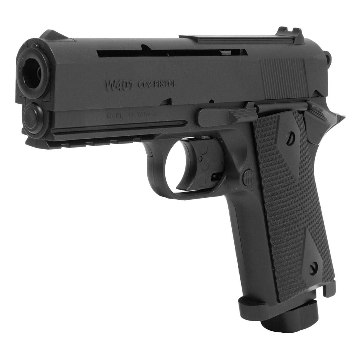 Pistola Airgun Rossi Co2 Wingun W401 4.5 Mm