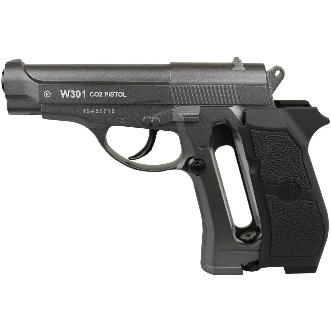 Pistola Airgun Wingun W301 Metal Co2 4.5 Mm