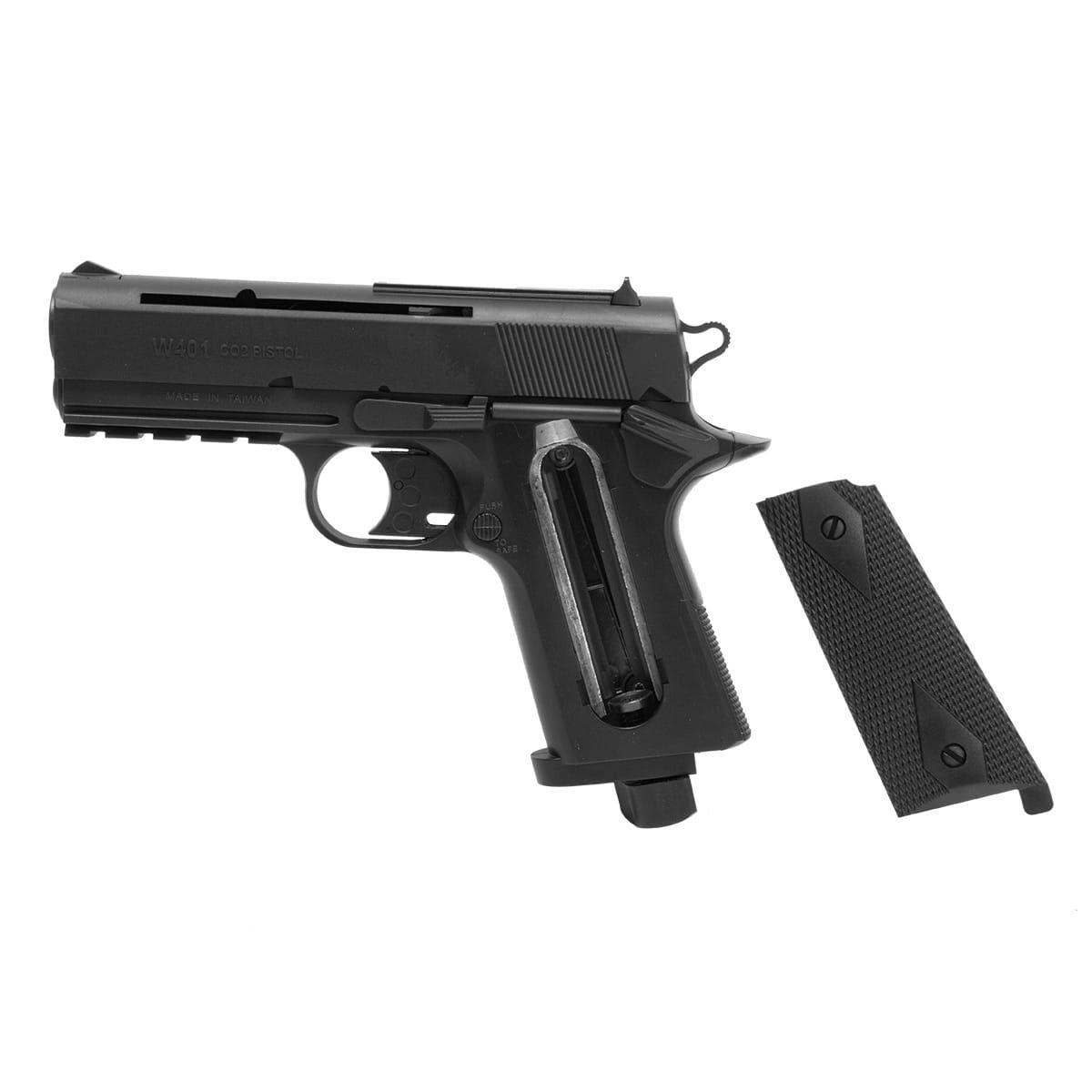 Pistola Airgun Wingun W401 Co2 4.5 Mm