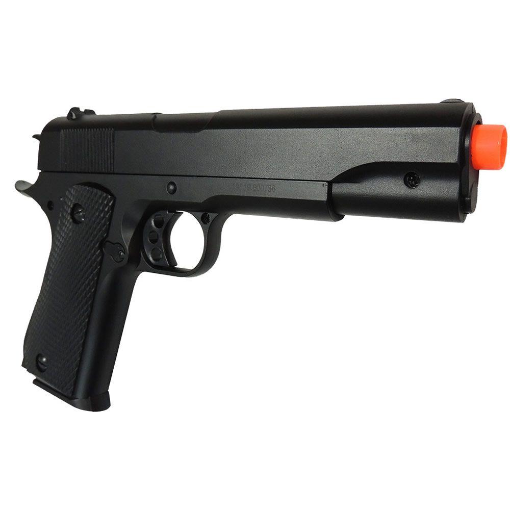 Pistola Airsoft Rossi Colt 1911 Spring Full Metal M295 6 mm