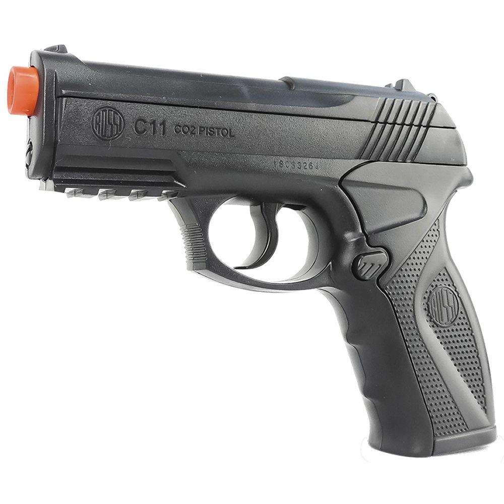Pistola Airsoft Wingun C11 CO2 6 mm