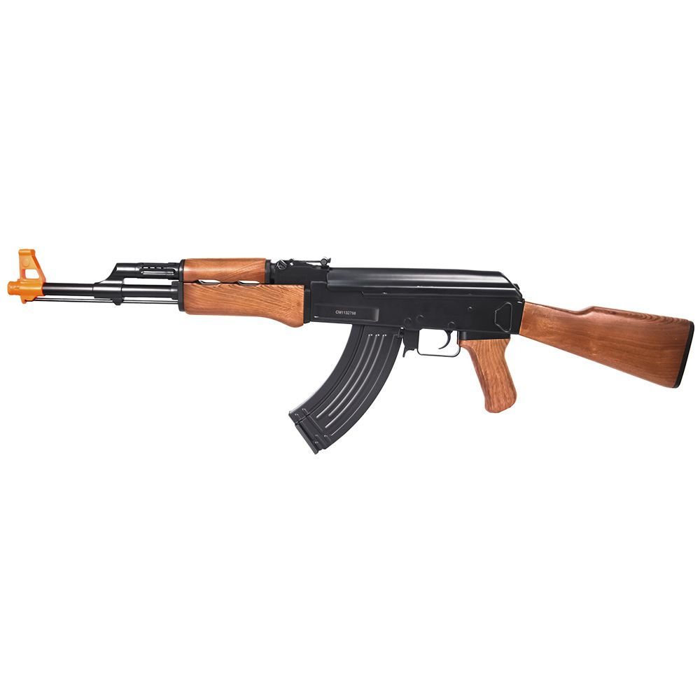 Rifle Airsoft Rossi Cyma Ak47 Toy CM022 Elétrica 6 mm