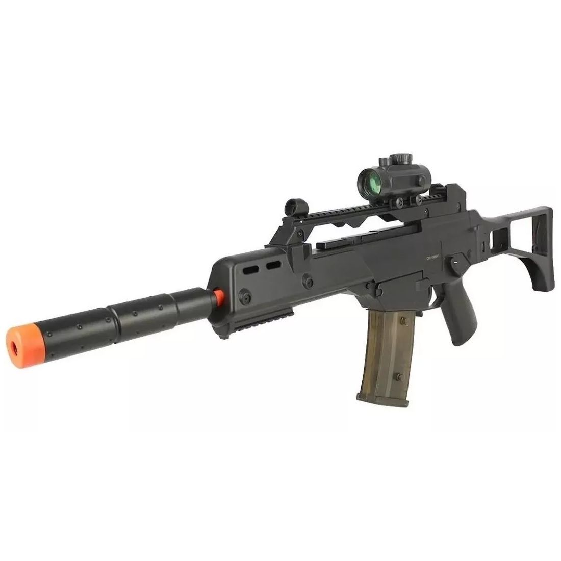 RIFLE AIRSOFT ROSSI ELÉTRICA CYMA G36 CM021 6 MM