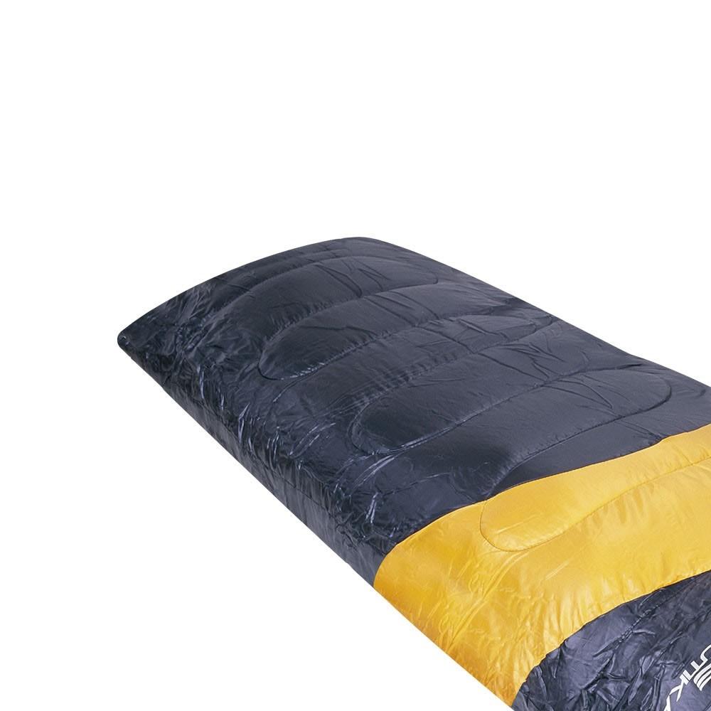 Saco De Dormir Nautika Viper - 5º A 12º - Preto/laranja