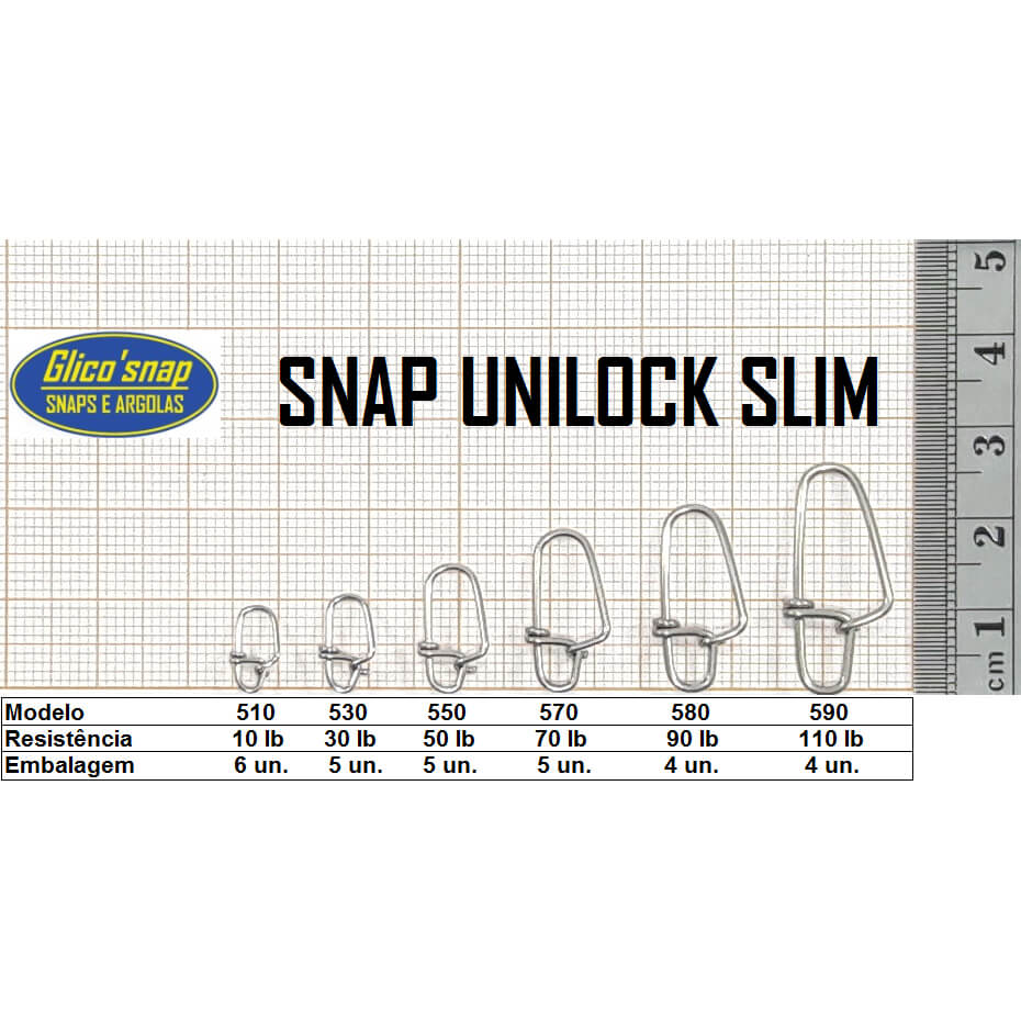 Snap Glico Unilock Slim