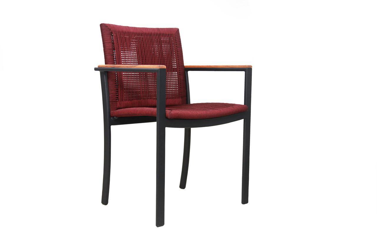 Cadeira Jasmim Corda Náutica com Braço