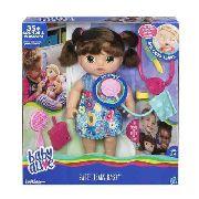 2a55751ad Boneca Baby Alive Adora Macarrão Morena C0964 Hasbro - Brink-Lândia