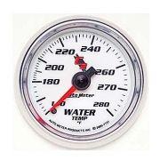 "Instrumento de Medir Temperatura de Água 140º - 280º F - Mecânico - 2"" 1/16"" - 6 Ft - C2 - AUTO METER"