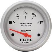 Instrumento Medir Nível Combustível GM - 0Ω E / 90Ω F - Elétrico - 2 5/8