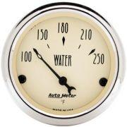 Instrumento Medir Temperatura Água 100º - 250º F - Elétrico - 2 1/16