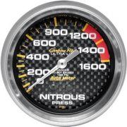 Manômetro Pressão Nitro 0 - 1600 PSI - Mecânico - 2