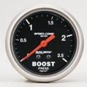 "Manômetro Pressão Turbo 0-2,5 Kg Mecânico 2"" 5/8""-Sport Comp"