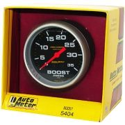 "Manômetro Pressão Turbo 0 - 35 PSI - Mecânico - 2"" 5/8"" - Pro-Comp com Líquido - AUTO METER"