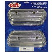Tampa de Válvulas Par Alumínio para VW/AR - Fixação Parafusos - SCAT