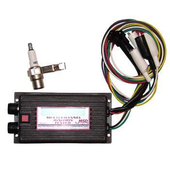 Aparelho Ignição Teste Digital Multi Canal - MSD  - PRO-1 Serious Performance
