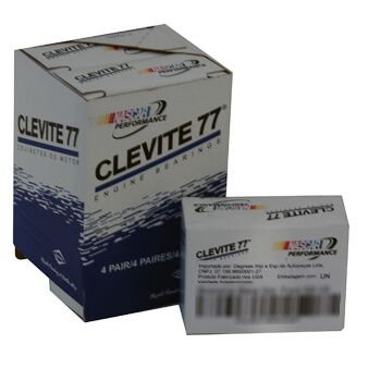 """Bronzina Biela Alumínio HP 0.010"""" Chevrolet 6 Cilindros em Linha - CLEVITE  - PRO-1 Serious Performance"""