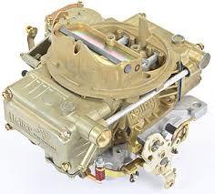 Carburador Quadrijet Holley 600 cfm - Segundo Estágio à Vácuo - HOLLEY  - PRO-1 Serious Performance