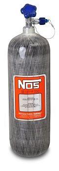 Cilindro de Óxido Nitroso Fibra de Carbono - 12.8lbs - 5,8kg - NOS  - PRO-1 Serious Performance