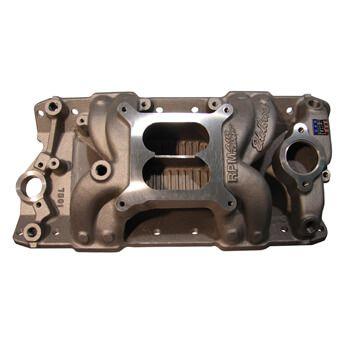 """Coletor de Admissão Edelbrock RPM """"Air Gap"""" - Chevrolet V8 Small Block   - PRO-1 Serious Performance"""