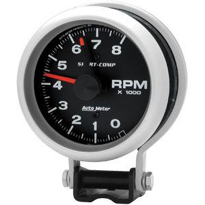 "Contagiros 8000 RPM Elétrico 3 3/4"" Sport Comp - AUTO METER  - PRO-1 Serious Performance"