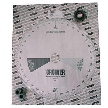 """Disco de Grau Profissional Enquadrar Comando Cubo e Buchas 12"""" - CROWER  - PRO-1 Serious Performance"""