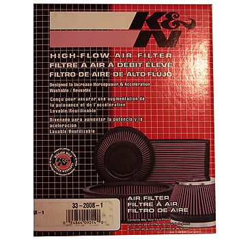 Filtro de Ar - Honda Prelude (333x152mm) - K&N  - PRO-1 Serious Performance