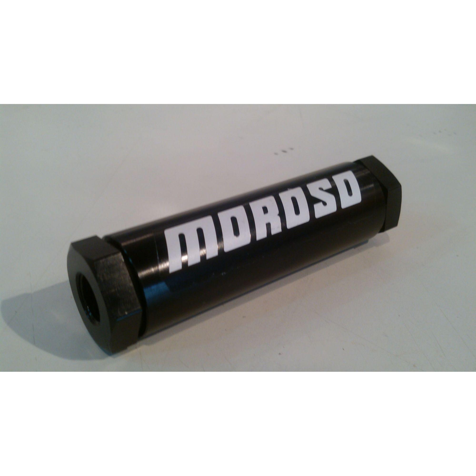Filtro de Combustível em Linha - 40 Microns  - MOROSO  - PRO-1 Serious Performance