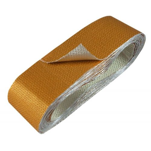 "Fita Refletora de Caloria Dourada - Adesiva - 1,5"" x 4,5m - THERMO TEC  - PRO-1 Serious Performance"
