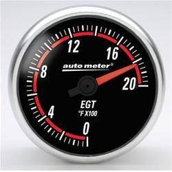 "Instrumento Medir Temperatura Gases Escape 0º - 2000º F - Elétrico -2"" 1/16"" - Nexus - AUTO METER  - PRO-1 Serious Performance"