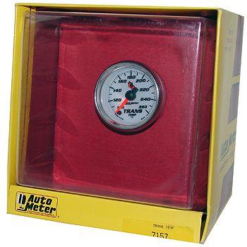 "Instrumento Medir Temperatura Transmissão 100º - 260º F - Elétrico - 2"" 1/16"" - C2 - AUTO METER  - PRO-1 Serious Performance"