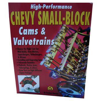 Livro Chevy Small Block Cams & Valvetrains  - PRO-1 Serious Performance