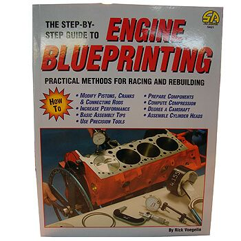 Livro Engine Blueprinting - CAR TECH  - PRO-1 Serious Performance