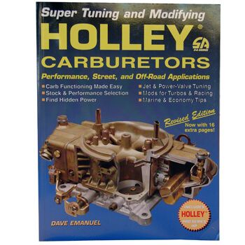 Livro Holley Carburators  - PRO-1 Serious Performance