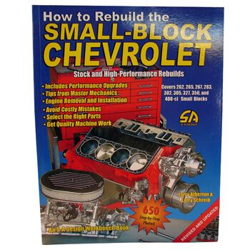 Livro How To Rebuild The Smal Block Chevrolet  - PRO-1 Serious Performance